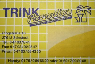 Sponsor: Trinkparadis